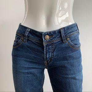 Silver Suki Women's Bootcut Riding Jeans 29x32